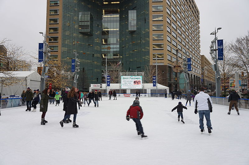 Detroit Ice Skating